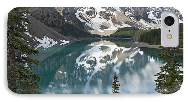 Moraine Lake Overlook IPhone Case