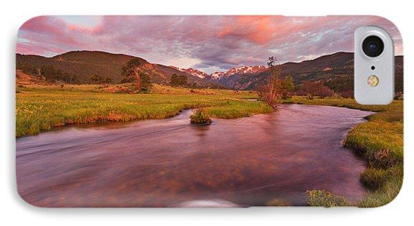 Moraine Sunrise IPhone Case by Darren  White