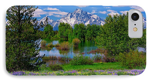 Moran From Pilgrim Creek IPhone Case by Greg Norrell