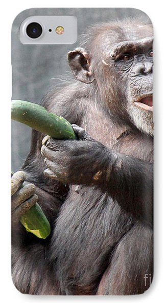 More Cucumbers IPhone Case by Cheryl Del Toro