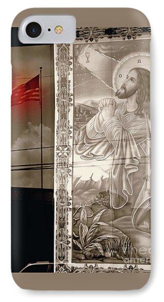 More Prayers For The Nation Phone Case by Joe Jake Pratt