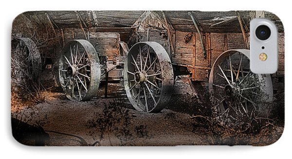 More Wagons East IPhone Case by Gunter Nezhoda
