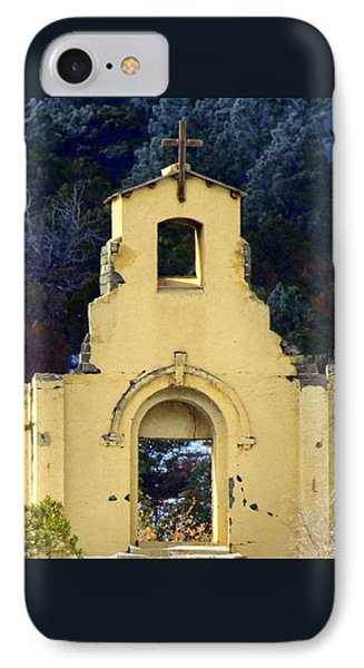 IPhone Case featuring the photograph Mountain Mission Church by Barbara Chichester