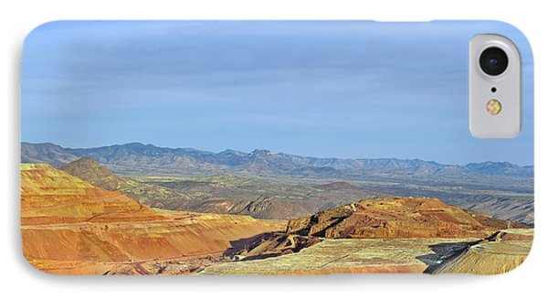 Morenci - A Beauty Of A Copper Mine IPhone Case by Christine Till