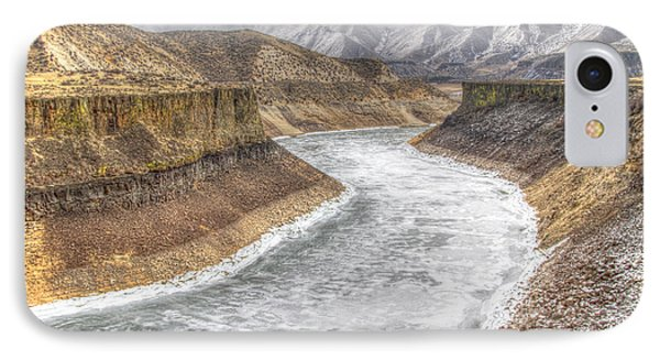 More's Creek Under Ice IPhone Case