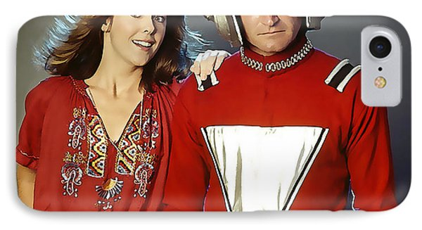 Mork And Mindy IPhone Case by Marvin Blaine