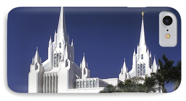 Mormon Temple IPhone Case by Paul W Faust -  Impressions of Light