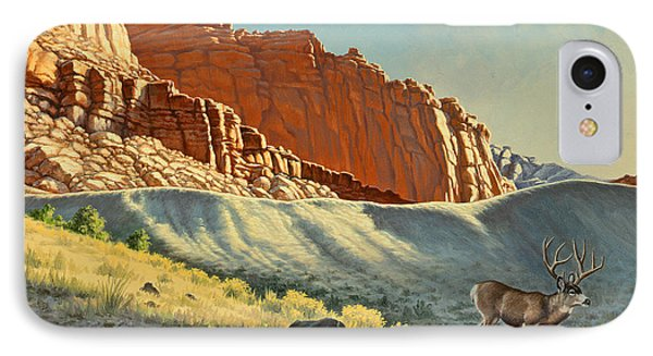 Morning At Capitol Reef IPhone Case by Paul Krapf
