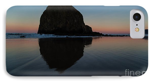Morning At Haystack Phone Case by Mike Reid