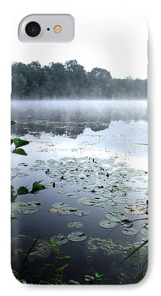 Morning At Lake Phone Case by Willo Breisacher