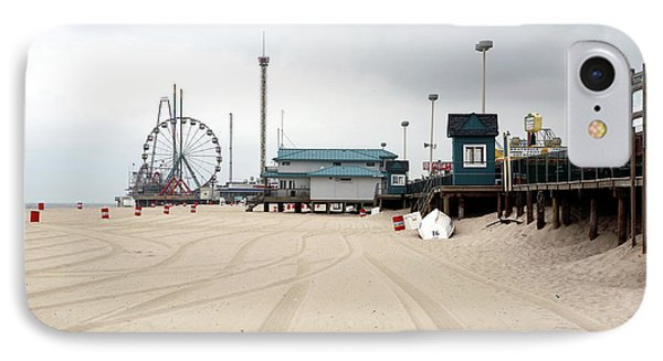 Morning At Seaside Heights Phone Case by John Rizzuto