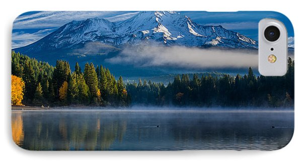 Morning At Siskiyou Lake IPhone Case by Greg Nyquist