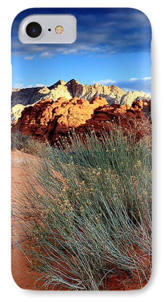 Morning At Snow Canyon State Park IPhone Case by Eric Foltz