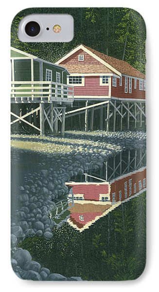 Morning At Telegraph Cove IPhone Case by Gary Giacomelli