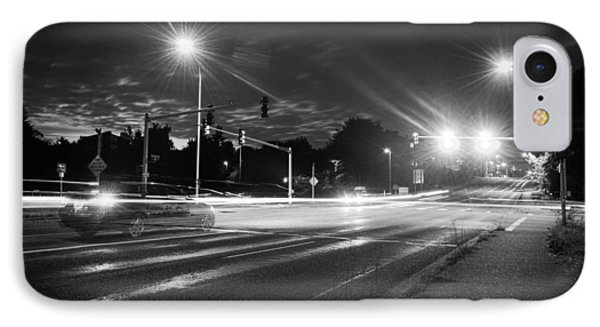 Morning At The Intersection IPhone Case by John Rossman