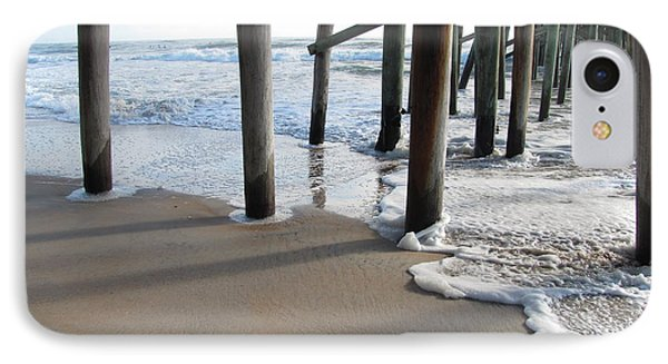 Morning At The Pier Phone Case by Michele Napier-Berg