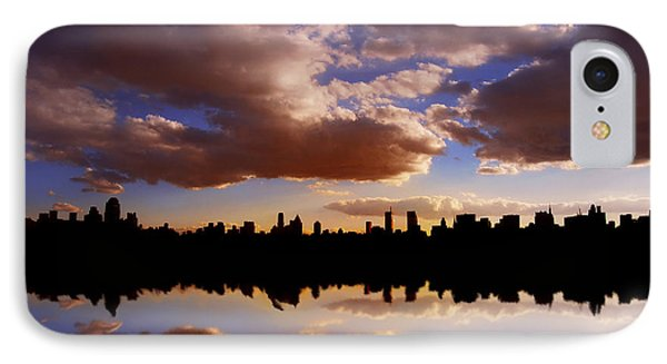 Morning At The Reservoir New York City Usa IPhone Case by Sabine Jacobs