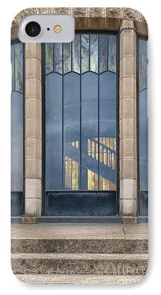 Morning At The Vista House IPhone Case by Sandra Bronstein