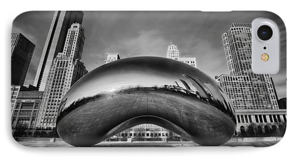 Morning Bean In Black And White IPhone Case by Sebastian Musial