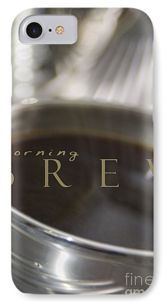 IPhone Case featuring the photograph Morning Brew by Vicki Ferrari
