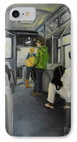 Morning Bus IPhone Case