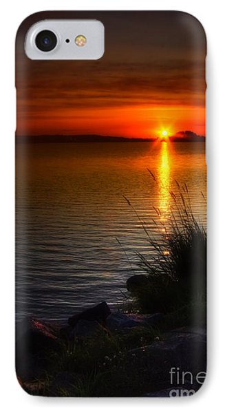 Morning By The Shore IPhone Case by Veikko Suikkanen