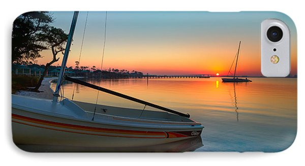 Morning Calm IPhone Case by Tim Stanley