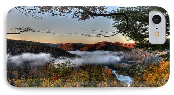 Morning Cheat River Valley IPhone Case by Dan Friend