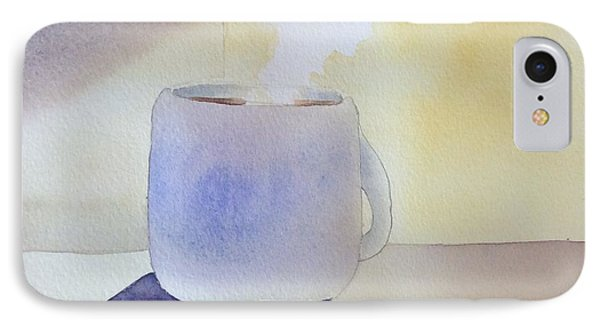Morning Coffee IPhone Case by Barbara Tibbets