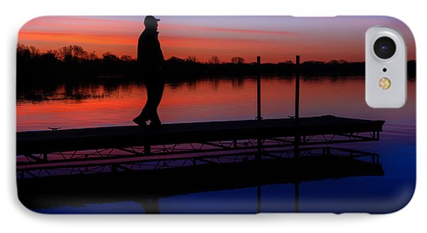 IPhone Case featuring the photograph Morning Color Forest Lake Mn by RC Pics