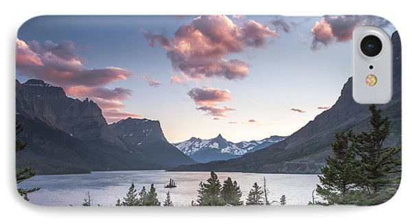 Morning Colors On The Lake Phone Case by Jon Glaser