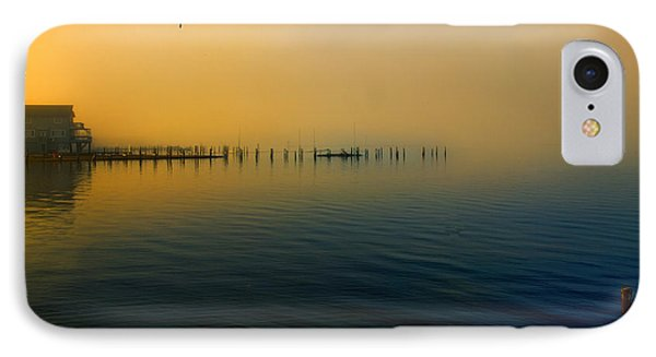 Morning Comes On The Bay IPhone Case by John Rivera
