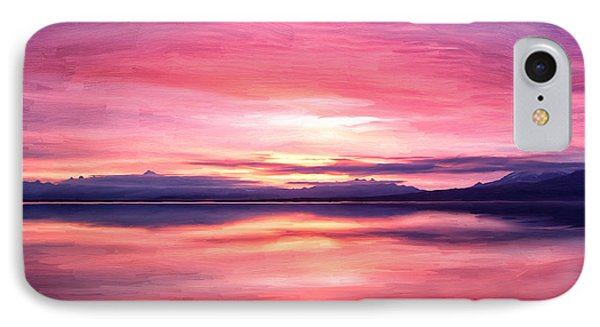 Morning Dawn IPhone Case by Michael Pickett