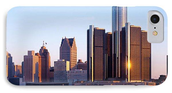 Morning, Detroit, Michigan, Usa IPhone Case