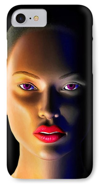 IPhone Case featuring the digital art Morning Dew by Anthony Mwangi