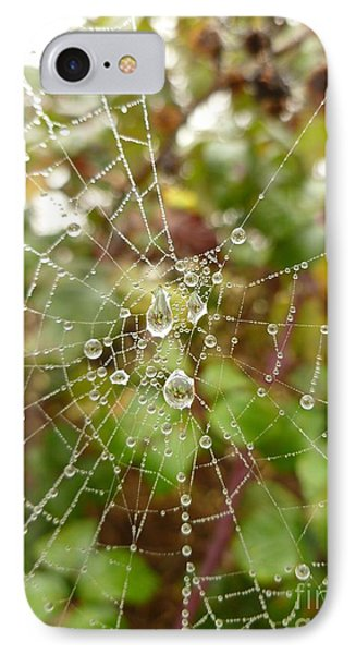 IPhone Case featuring the photograph Morning Dew by Vicki Spindler