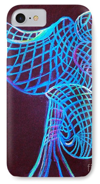 IPhone Case featuring the painting Morning Dove by Ayasha Loya