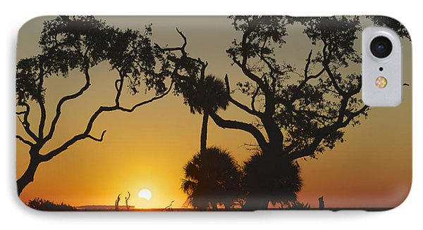 Morning Eclipse IPhone Case by Phill Doherty