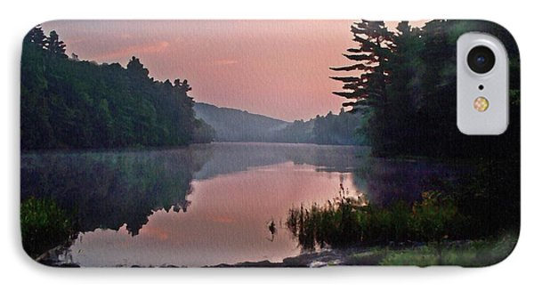 Morning....... Egypt Pond IPhone Case by Joy Nichols
