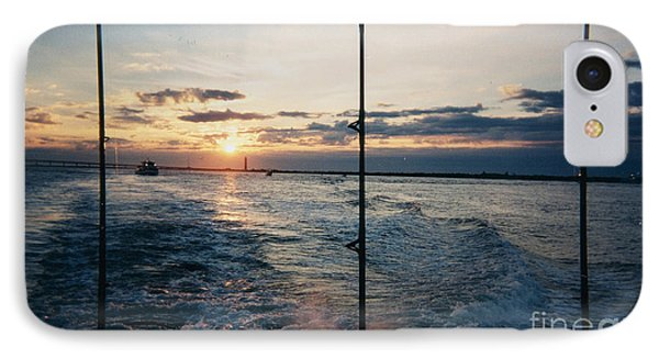 IPhone Case featuring the photograph Morning Fishing by John Telfer
