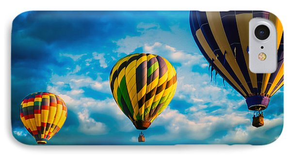 Morning Flight Hot Air Balloons Phone Case by Bob Orsillo