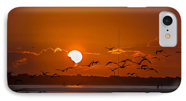 Morning Flight IPhone Case by RC Pics
