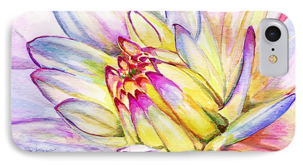 Morning Flower IPhone Case by Janet Garcia