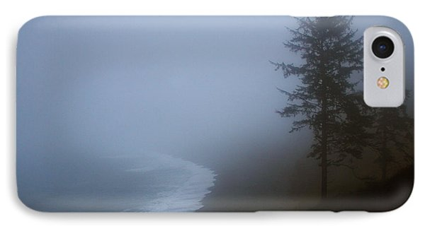 Morning Fog At Agate Beach Phone Case by Robert Woodward