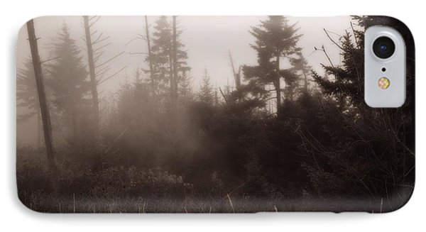 Morning Fog In The Smoky Mountains Phone Case by Dan Sproul