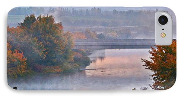 IPhone Case featuring the photograph Morning Fog by Lynn Hopwood
