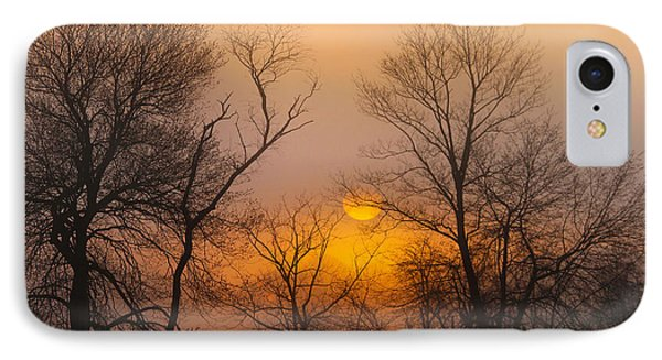 Morning Fog IPhone Case by Roger Becker