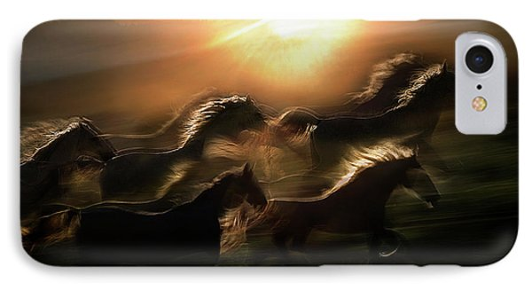 Morning  Gallop IPhone Case