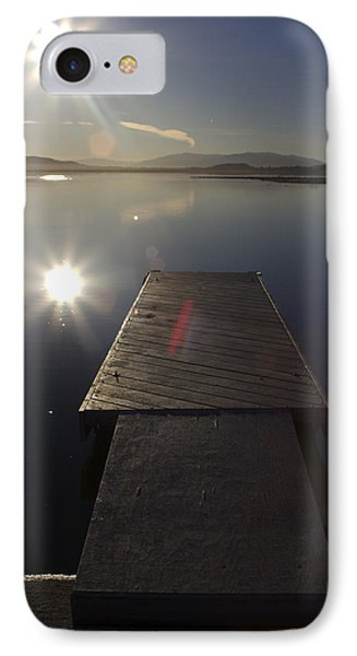 IPhone Case featuring the photograph Morning Glare by Richard Stephen