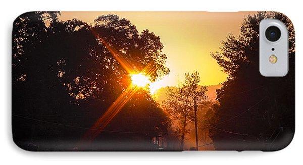 Morning Glare Phone Case by Robert J Andler